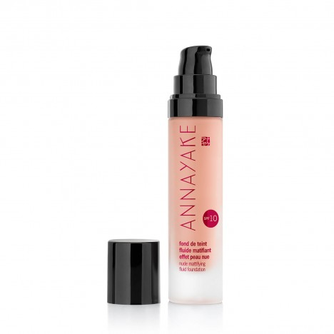 Nude mattifying fluid foundation SPF 10